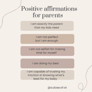 Positive affirmations for parents - tips to avoid the dreaded milestone comparison